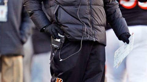 Cincinnati: Head coach Marvin Lewis