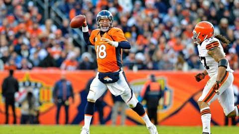 Ravens at Broncos, Saturday at 4:30 p.m .ET (CBS)