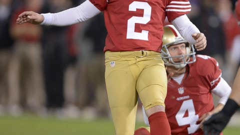 David Akers, San Francisco 49ers