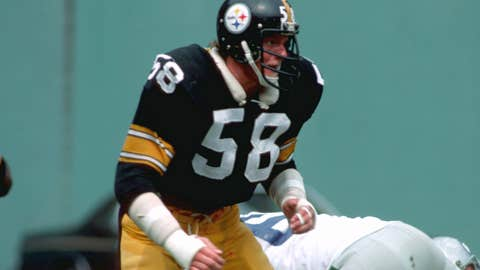 Pittsburgh Steelers: LB Jack Lambert, second round (46 overall), 1974