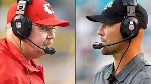 Kansas City Chiefs at Jacksonville Jaguars (Sunday, 1 p.m. ET, CBS)