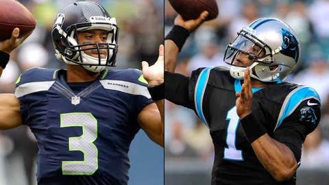 Seattle Seahawks at Carolina Panthers (Sunday, 1 p.m. ET, FOX)