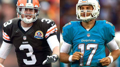 Miami Dolphins at Cleveland Browns (Sunday, 1 p.m. ET, CBS)