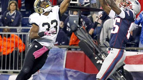 Patriots 30, Saints 27