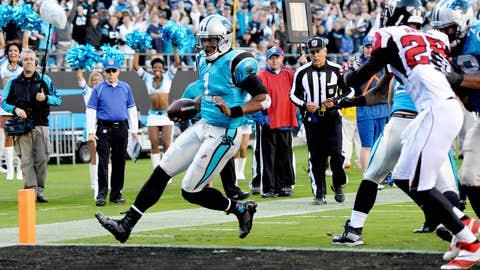 Panthers 34, Falcons 10