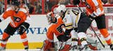 Wednesday's NHL playoff gallery