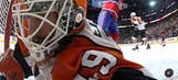 Thursday's NHL playoff gallery