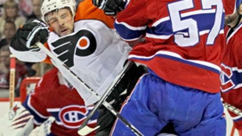 Flyers vs Canadiens