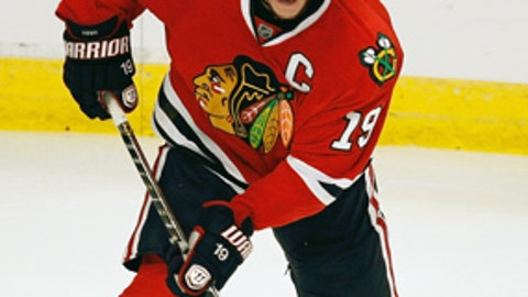 Toews the line