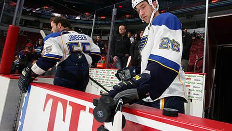 B.J. Crombeen, St. Louis Blues