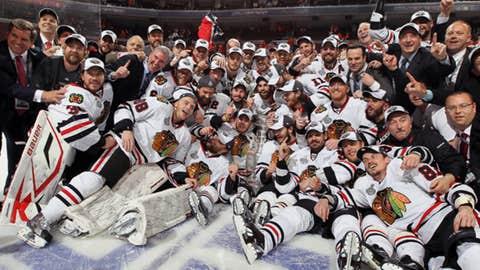 Blackhawks capture the Cup
