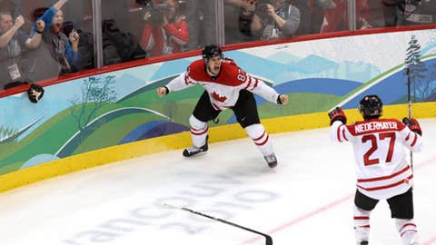 Canada wins gold on home ice