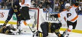 The best shots from Sunday's NHL playoff action