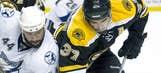 Bruins take 3-2 lead over Lightning