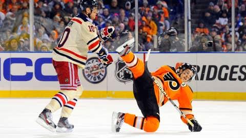 2012: Rangers 3, Flyers 2 (at Citizens Bank Park)
