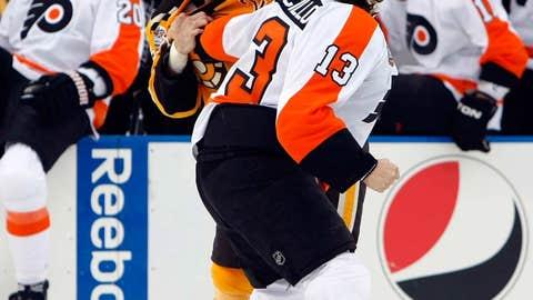 2010: Bruins 2, Flyers 1, OT (at Fenway Park)