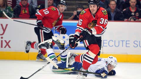 Game 16: Blackhawks 4, Canucks 3 (SO)