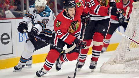 Game 17: Blackhawks 2, Sharks 1