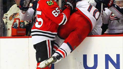 Game 18: Blackhawks 1, Blue Jackets 0