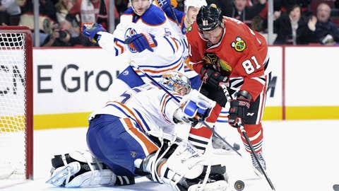 Game 19: Blackhawks 3, Oilers 3 (OT)