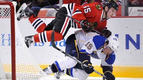 Game 3: Blackhawks 3, Blues 2