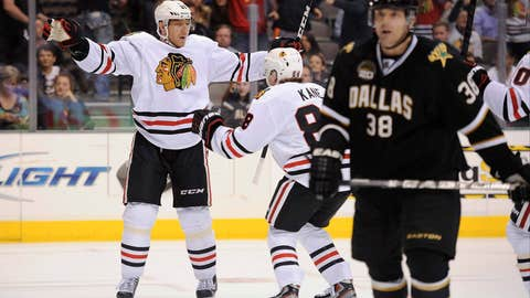 Game 4: Blackhawks 3, Stars 2 (OT)