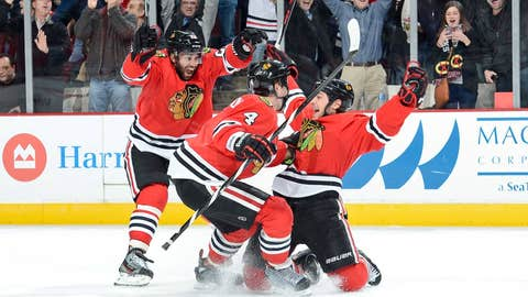Game 24: Blackhawks 3, Avalanche 2