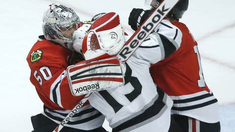 Crawford protects captain