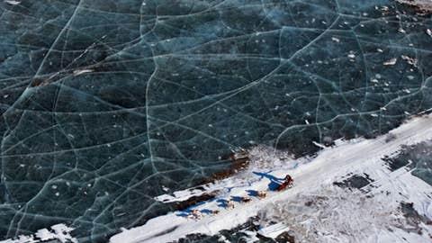 Treacherous ice