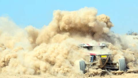 Emerging from the dust
