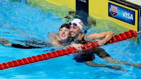 Alyssa Anderson (right)