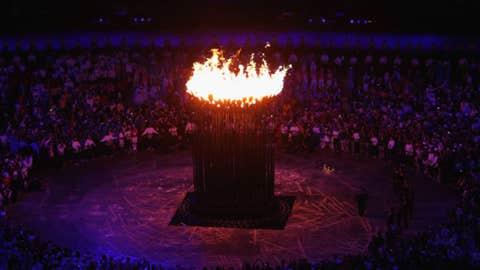 So who lit the cauldron?