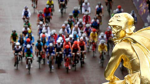 Ride for gold