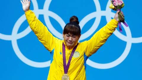 Weightlifting (women's 63 kg)