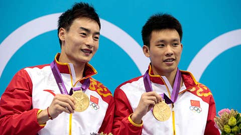 Diving (men's synchronized 3m springboard)