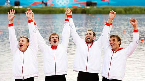 Rowing – men's quadruple sculls