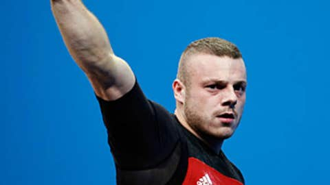 Weightlifting – men's 85 kg