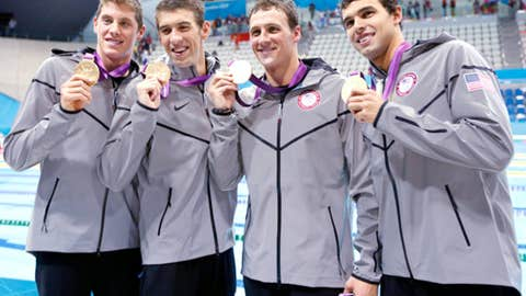 2012 London: 4x200m freestyle relay