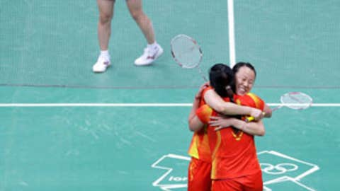 Badminton – women's doubles