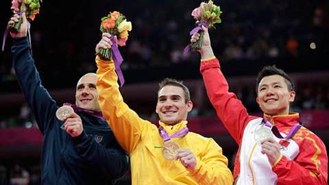 Gymnastics - men's rings