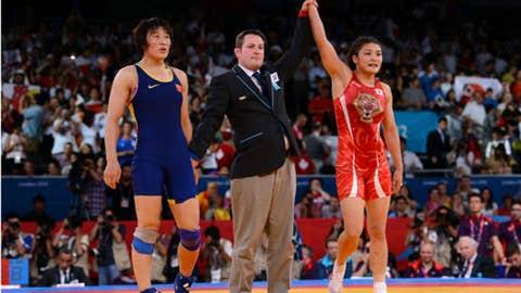 Wrestling - women's 63-kilogram class