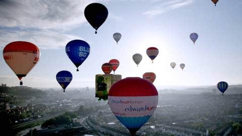 In my beautiful ... balloon