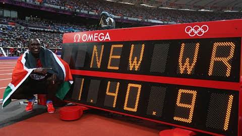 Track & field – men's 800 meters
