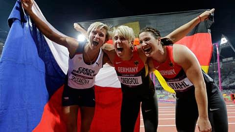 Track & field – women's javelin throw