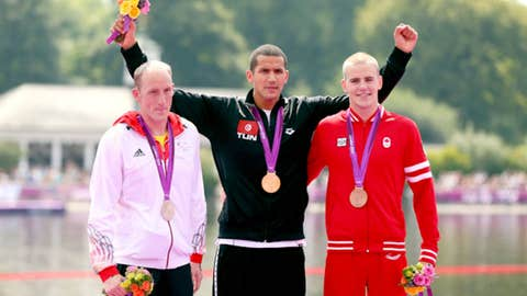 Marathon 10K swim -- men