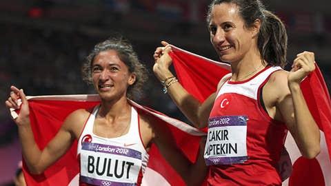 1,500 meters - women's