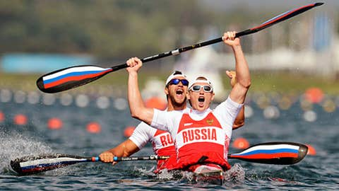 Canoe/Kayak – men's 200-meter K2