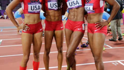 Track & field – women's 4x400-meter relay