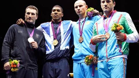Boxing – men's super heavyweight
