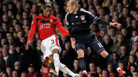 Defender: Patrice Evra, Manchester United